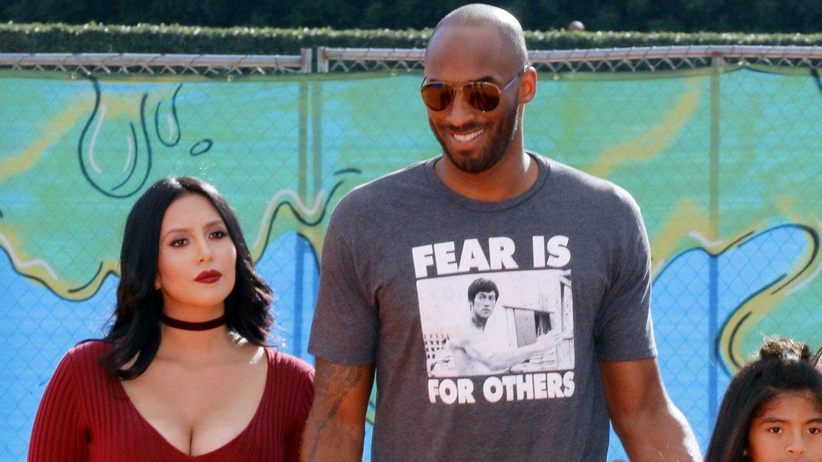 Kobe Bryant und seine Ehefrau Vanessa lernten sich 1999 kennen.. © Tinseltown/Shutterstock.com