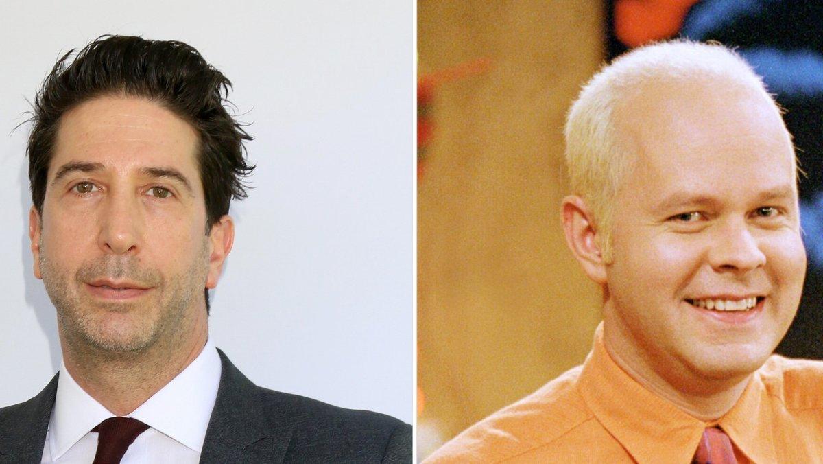"""David Schwimmer (l.) und James Michael Tyler standen gemeinsam für """"Friends"""" vor der Kamera.. © imago images/Everett Collection / Kathy Hutchins/Shutterstock.com"""