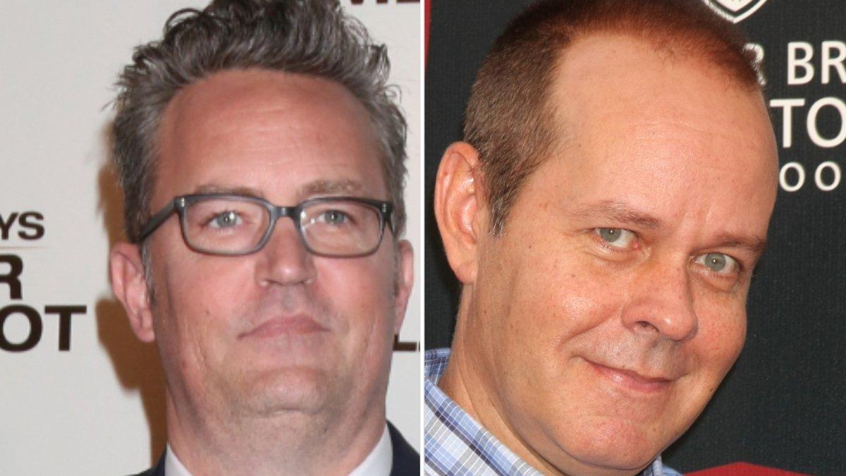 "Matthew Perry (l.) hat mit James Michael Tyler einen ""guten Freund"" verloren.. © [M] carrie-nelson/ImageCollect"