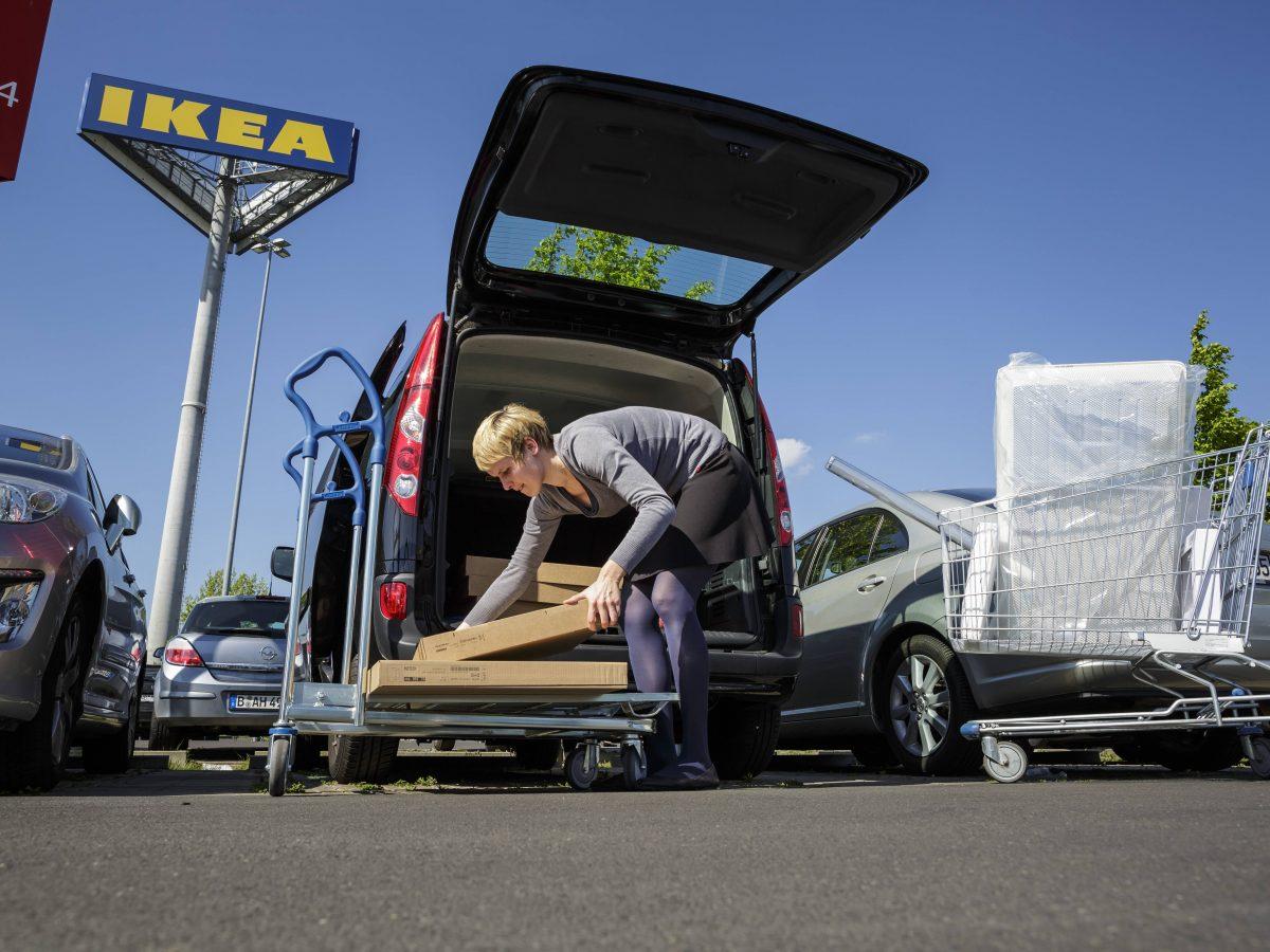 Ikea-Pakete
